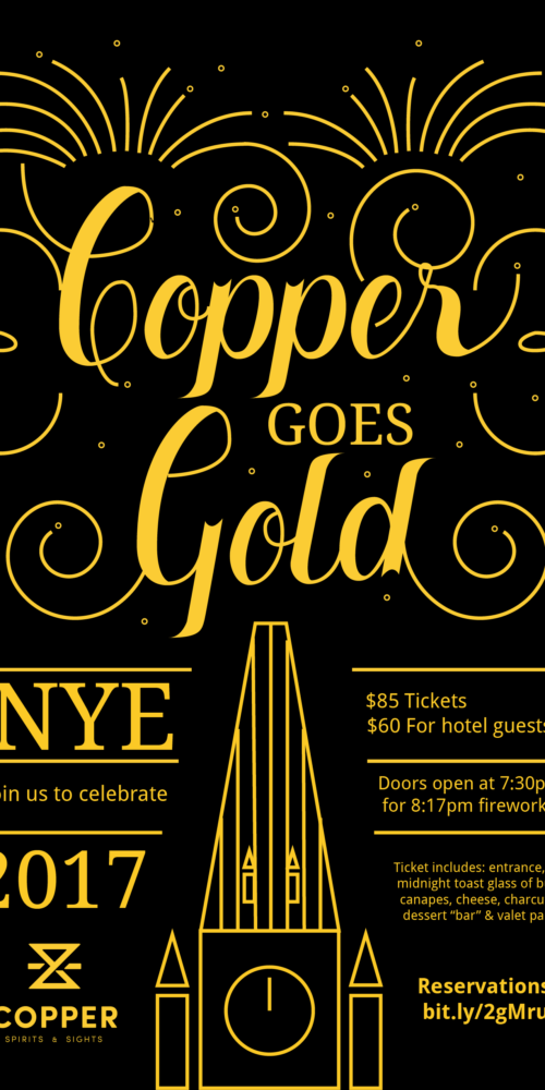 Copper Poster Design Ottawa